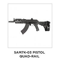 SAM7K-03 Pistol Quad-Rail