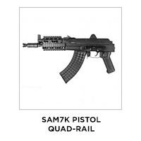 SAM7K Pistol Qual-Rail