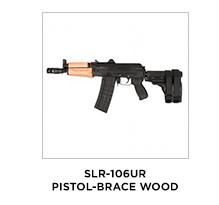 SLR-106UR Pistol-Brace Wood