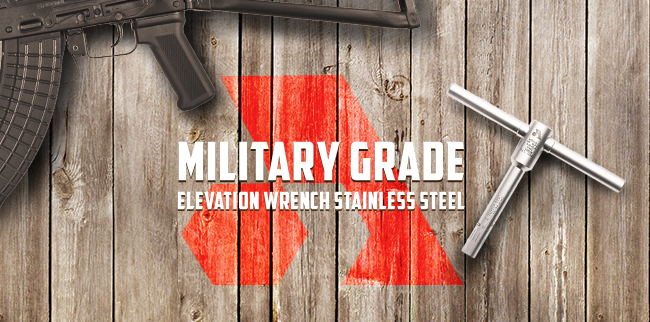 Military Grade Elevation Wrench Tool