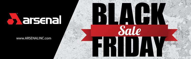 Arsenal Inc Black Friday
